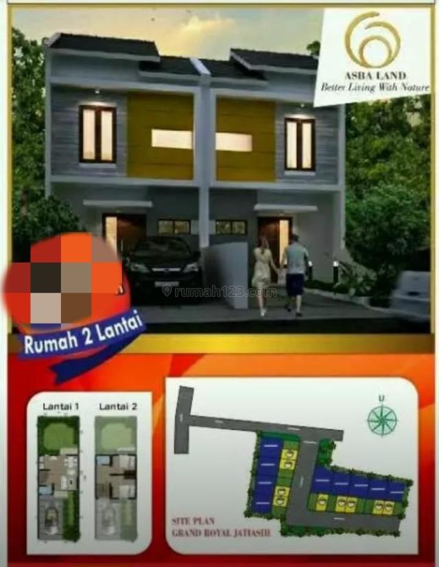 Rumah 2 lantai di lokasi dekat Toll Jatiasih hanya 600 jutaan, Jati Asih, Bekasi