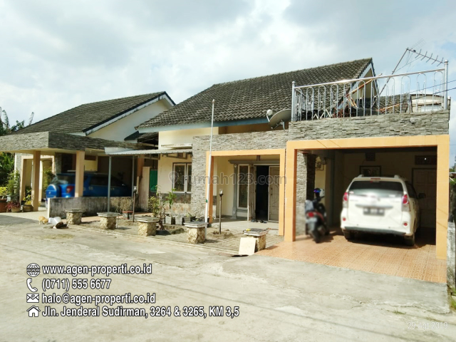 Rumah Cluster Akasia Seberang Danau Opi Jakabaring Palembang, Rambutan, Banyuasin