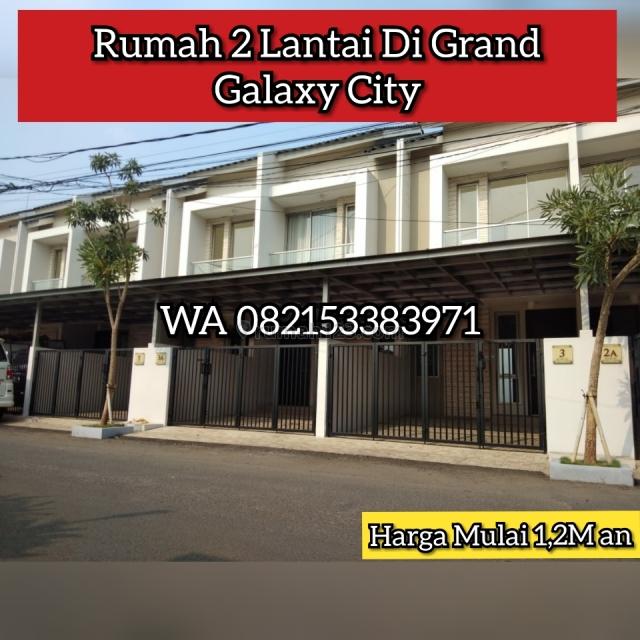 Rumah Baru 2 Lantai di Grand Galaxy City Bekasi, Galaxy, Bekasi