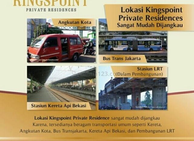 Marketing Kingspoint Private Residence, Telukpucung, Bekasi