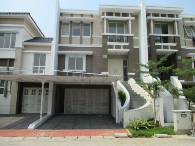 Rumah Golf Lake Residence Depan Taman, Cengkareng, Jakarta Barat