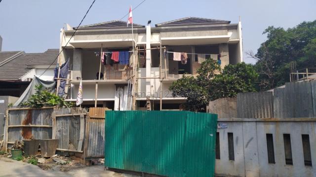 Rumah baru minimallis modern dekat stasiun LRT Jatibening, Jatibening, Bekasi