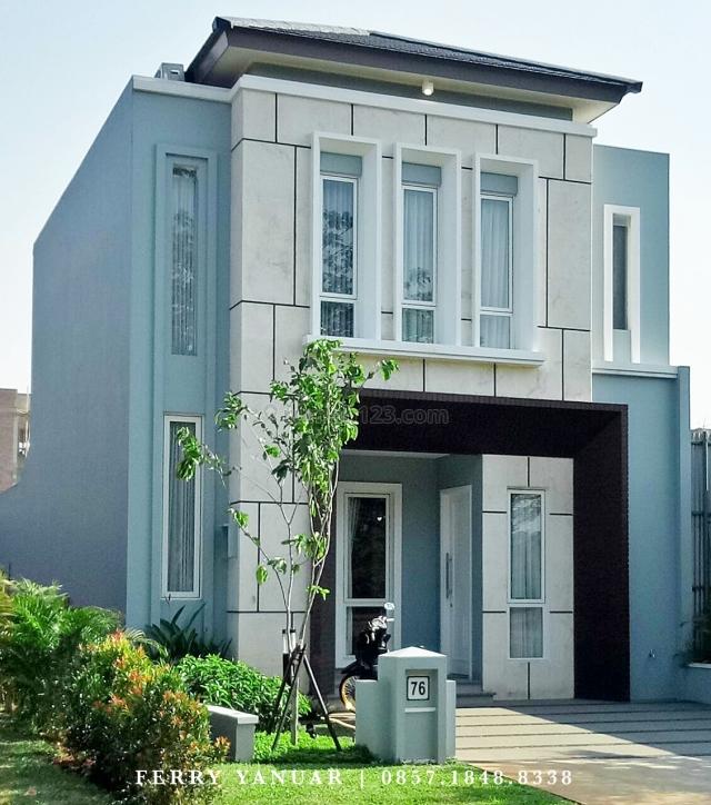 Rumah Baru Kawasan Elite Lokasi Super Strategis di Cluster Orlanda Alam Sutera - 3 Menit dari Exit Toll 1 Menit ke Mall Living World, Alam Sutera, Tangerang