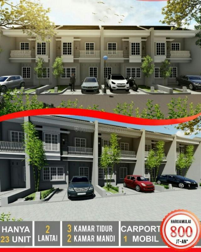 Investasi Properti Rumah 2 Lantai di Margonda Raya. Depok, Margonda, Depok