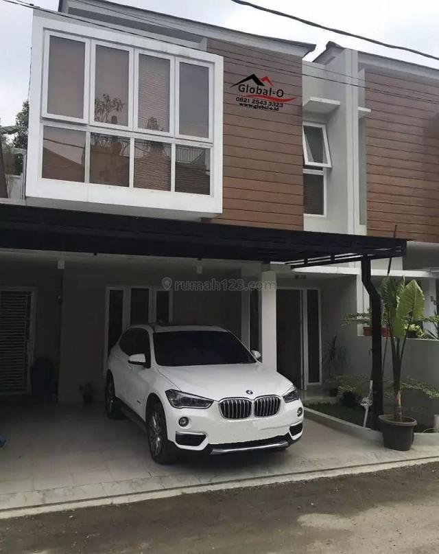 INFO Rumah Dalam residence di Lebak Bulus 2 Lantai Furnish 3Kamar Tidur!  Luas Tanah: 100 m2, Lebak Bulus, Jakarta Selatan