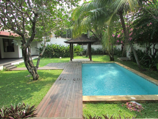 Standalone House with Huge Backyard and Pool at Cipete, Cipete, Jakarta Selatan