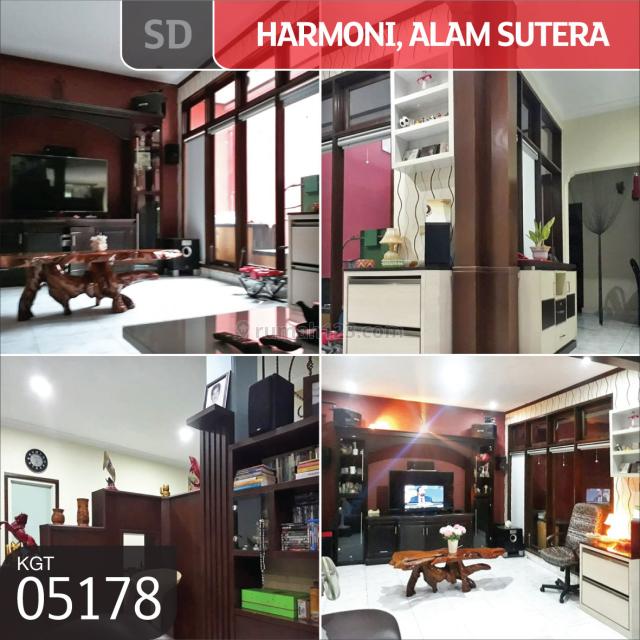 Rumah Harmoni Alam Sutera, Tangerang, Sutera Buana Alam Sutera, Tangerang