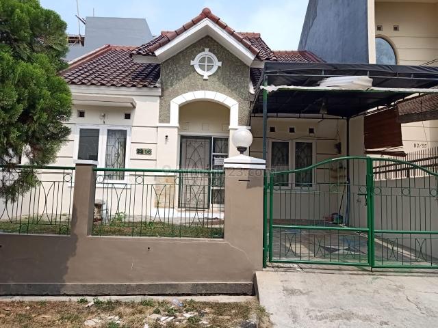rumah siap huni baru renovasi, BSD Villa Melati Mas, Tangerang