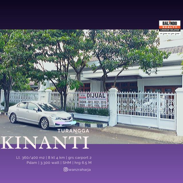 rumah cantik kinanti, Turangga, Bandung