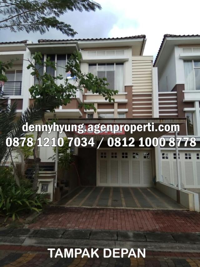 Rumah Crown Golf 8x24 PIK Pantai Indah Kapuk, Pantai Indah Kapuk, Jakarta Utara