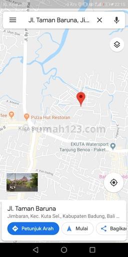 RUMAH MEWAH 2 LT NUANSA VILLA TROPIS DI PUSAT JIMBARAN DEKAT BY PASS DAN EXIT TOLL, Jimbaran, Badung