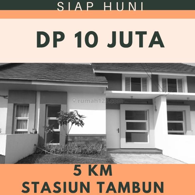 DP 10 JUTA ALL IN. Rumah Idaman 13 Menit ke Stasiun Tambun. KPR DIBANTU., Bekasi, Bekasi