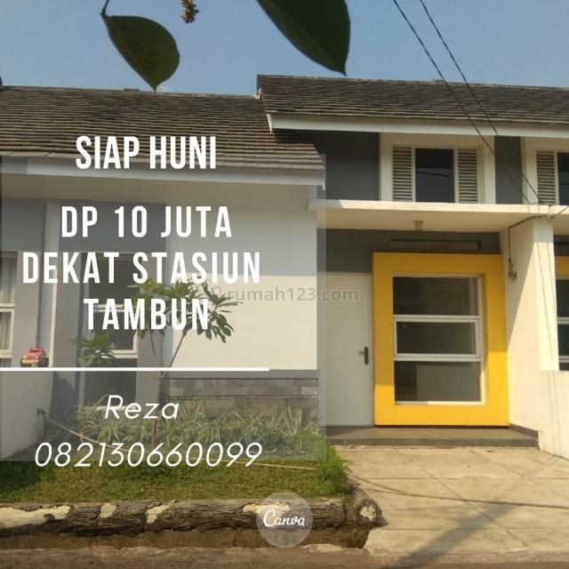 DP 10 JUTA ALL IN. Rumah Impian 13 Menit ke Stasiun Tambun. KPR DIBANTU., Bekasi Kota, Bekasi