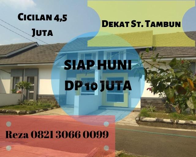 DP 10 JUTA ALL IN. Rumah Murah STRATEGIS 13 Menit ke Stasiun Tambun. KPR DIBANTU., Bekasi Timur, Bekasi
