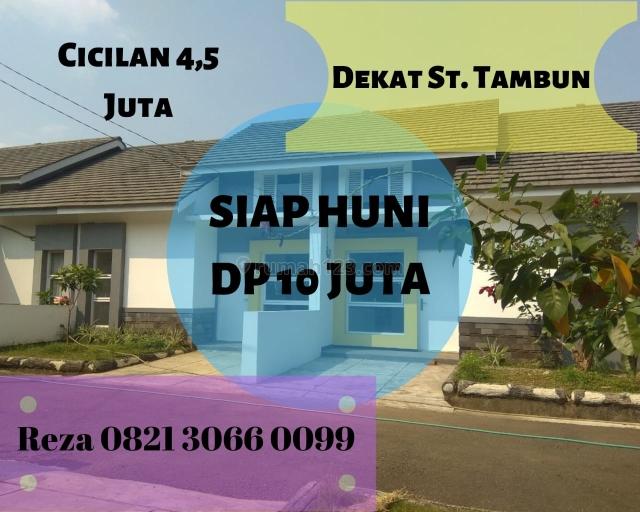 DP 10 JUTA ALL IN. KPR DIBANTU. Rumah Idaman 13 Menit ke Stasiun Tambun., Cibitung, Bekasi