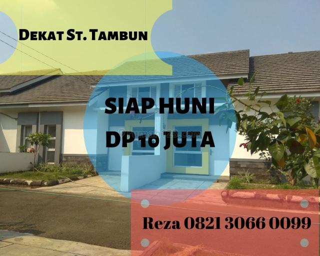 DP 10 JUTA ALL IN. Rumah SIAP HUNI 13 Menit ke Stasiun Tambun. KPR DIBANTU., Bekasi, Bekasi