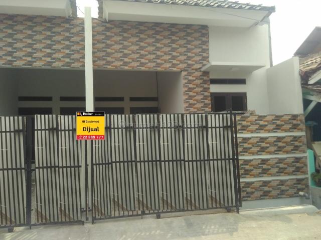 Rumah minimalis full renovasi di harapan indah bisa KPR, Medan Satria, Bekasi