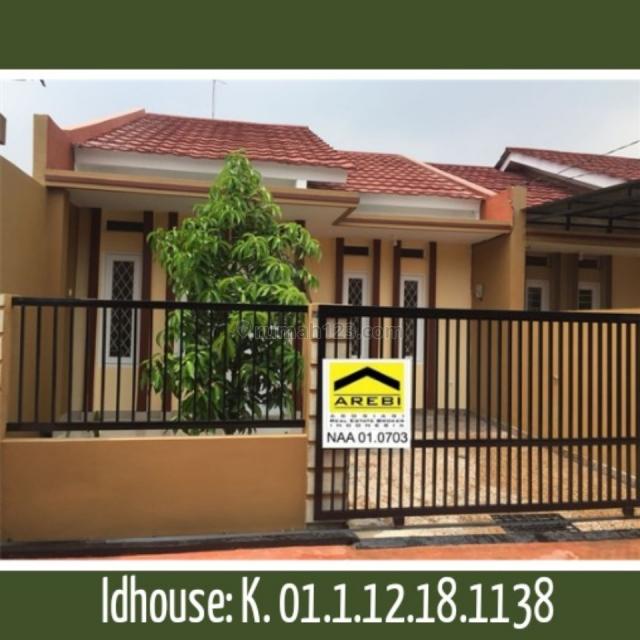 Rumah dalam cluster di jatiwaringin, Bekasi Kota, Bekasi