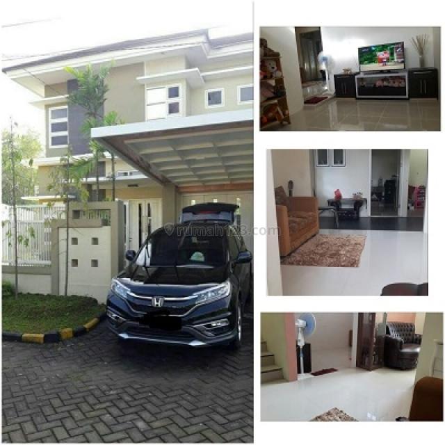 Rumah Menteng Regency Model Minimalis Bangunan 2 Lantai Full Furnish, Driyorejo, Gresik