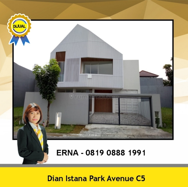 RUMAH DIAN ISTANA CLUSTER PARK AVENUE DEKAT CLUB HOUSE, Wiyung, Surabaya