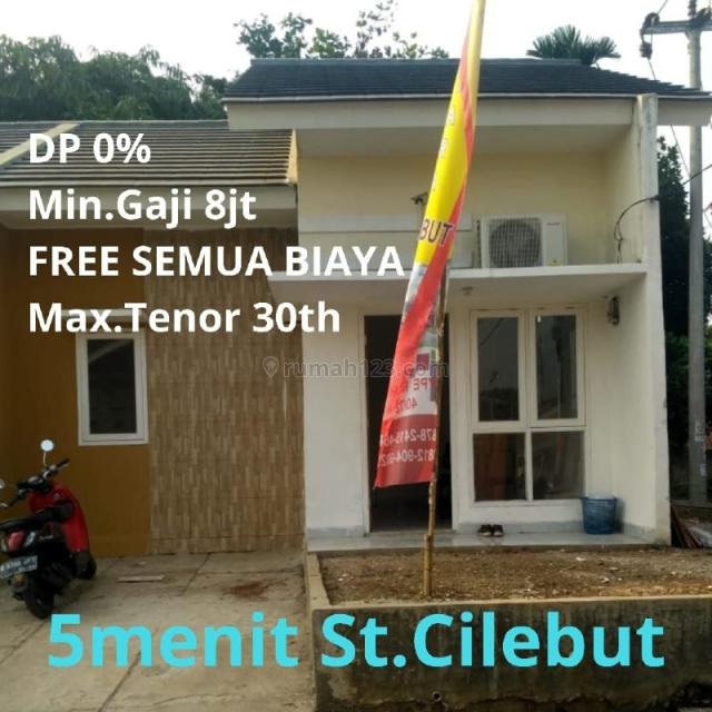 Harga ALL IN. DP 0% selama masa PROMO! 1,5 km ke Stasiun Cilebut., Cilebut, Bogor