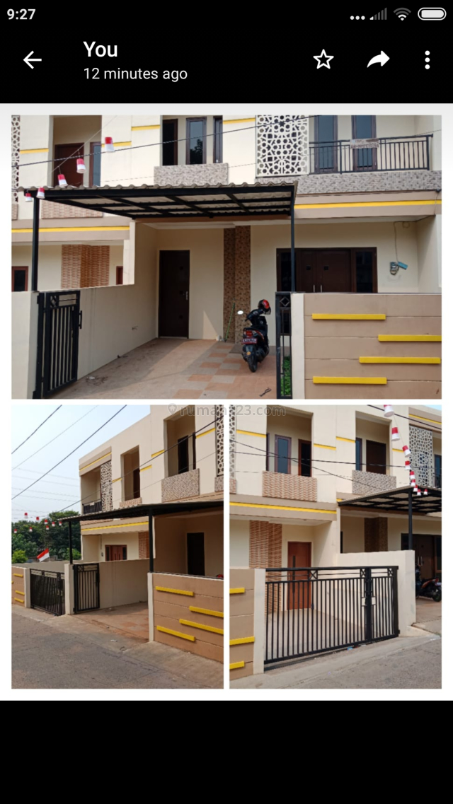 Rumah Baru cinere,siap huni, lokasi strategis,bisa kpr, dekat k mall, Cinere, Jakarta Selatan
