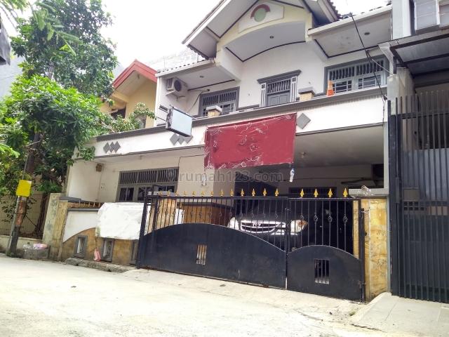 Rumah hitung tanah di Sunter Agung Barat, Tanjung Priok, Sunter, Jakarta Utara