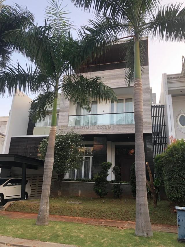 Rumah di mediterania resort PIK, Pantai Indah Kapuk, Jakarta Utara
