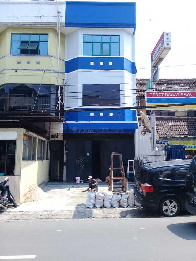 Dijual & Disewakan Ruko 3 Lantai Tebet Barat - Jaksel, Tebet, Jakarta Selatan