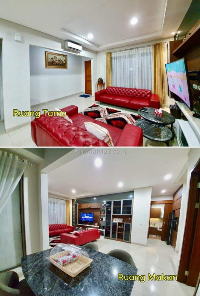 Rumah bagus FullyFurnished di Luxmore Greenwich di BSD, Tangerang., BSD, Tangerang