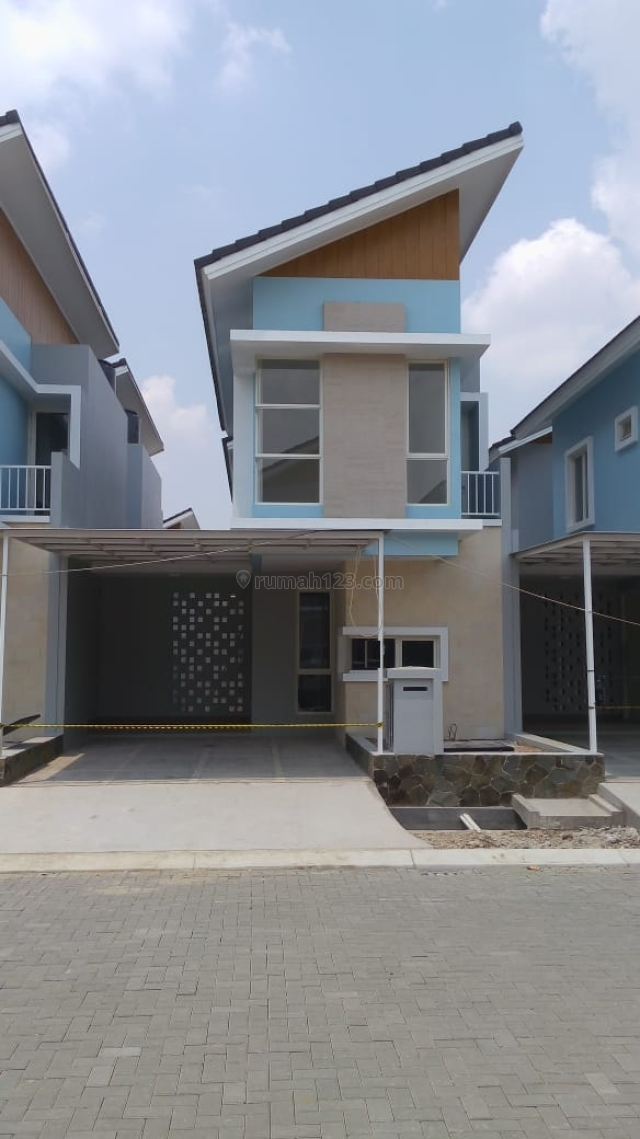 Rumah TAKEOVER di Harapan Indah cluster Lavesh (B2609), Bekasi Barat, Bekasi