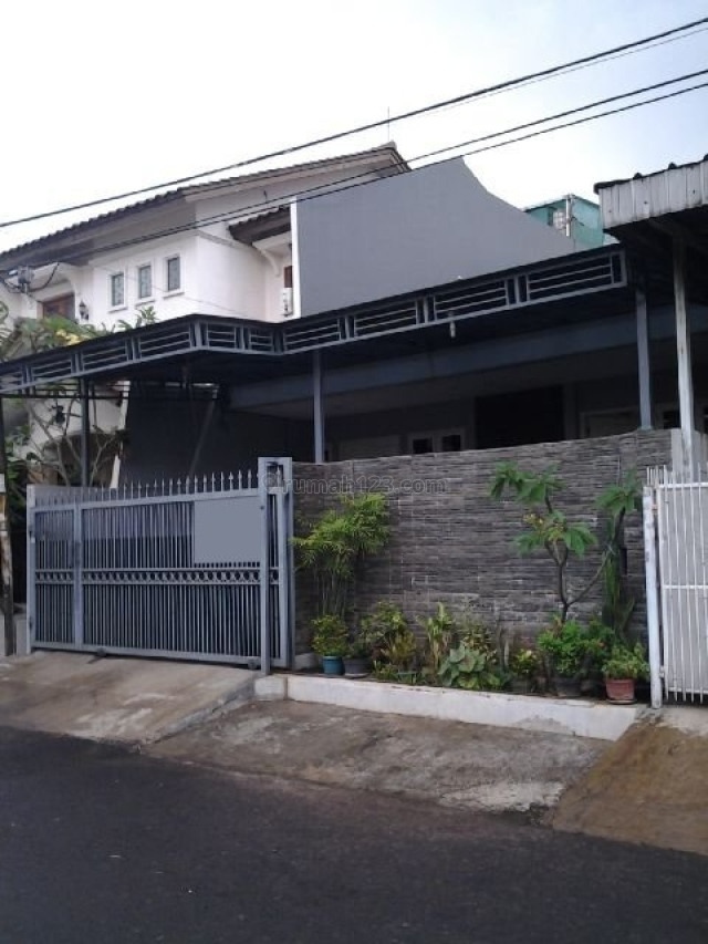 (GA9873-JS) Rumah Dalam Perumahan Asri, Jarang Ada di Taman Alfa Indah, Alfa Indah, Jakarta Barat
