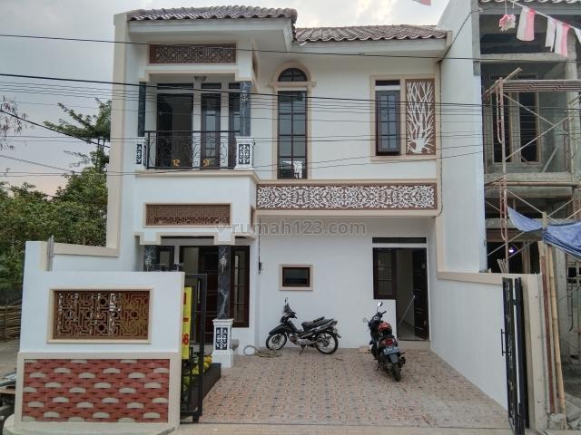 rumah asri design modern klasik dekat toll, tanah baru, depok