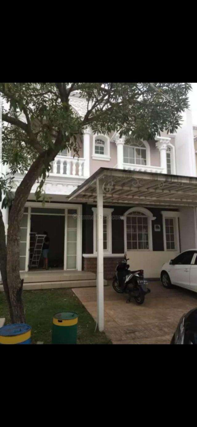 Rumah Green Lake City, Cluster Amerika Latin, uk. 8x18, Hoek, 2 lantai, KT 3+1, KM 3+1, harga 4,1M nego sampai deal, Green Lake City, Jakarta Barat