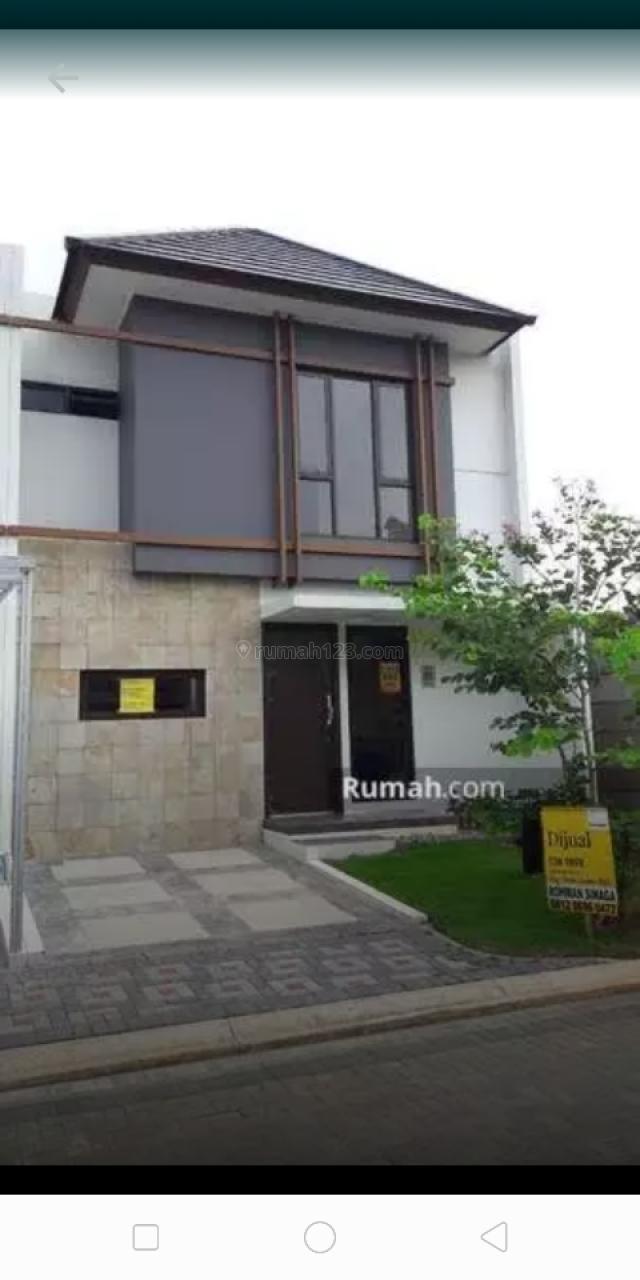 Rumah Kirenia Park Cluster baru di nusaloka bsd, BSD Nusaloka, Tangerang
