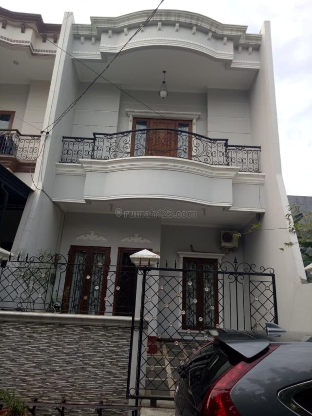 Rumah Danau Asri Siap Huni , 6X18m , Jalan Lebar , Dalam Komplek Keamanan 24 Jam, Sunter, Jakarta Utara