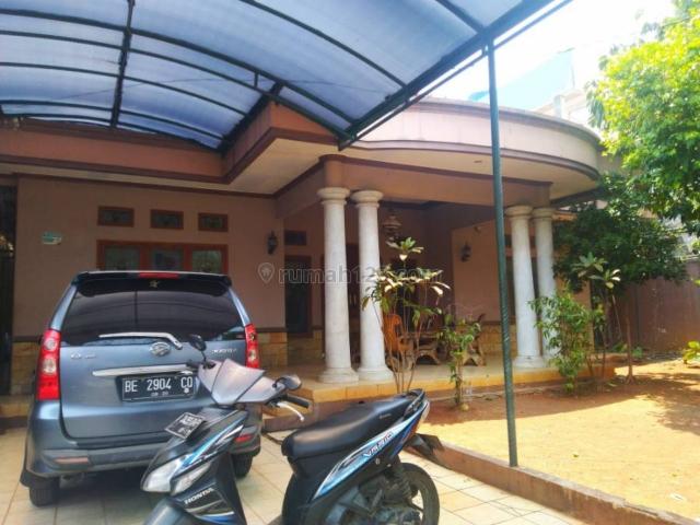 Rumah MEGAH TANAH BESAR 600 M2, Dekat RAGUNAN, CILANDAK, Asri Dan Tenang, Jagakarsa, Jakarta Selatan