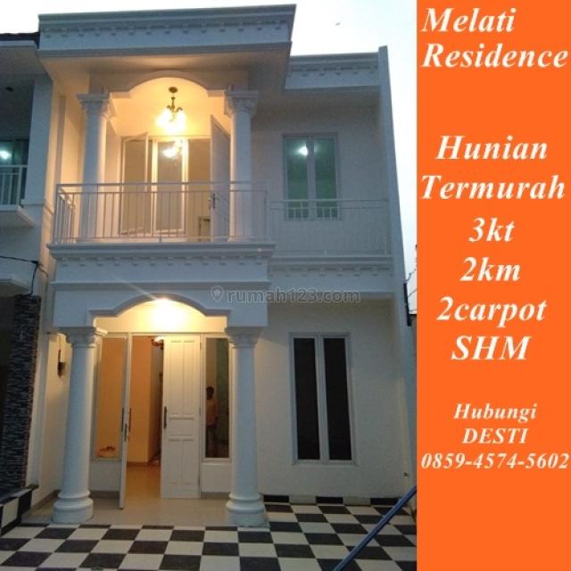 rumah bertingkat 2lantai sangat murah anti banjir di pamulang, BSD Taman Edelweis, Tangerang