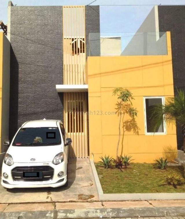 rumah baru siap huni, Panongan, Tangerang
