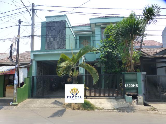 Rumah cantik vila dago tol siap huni (1820), Serua, Tangerang
