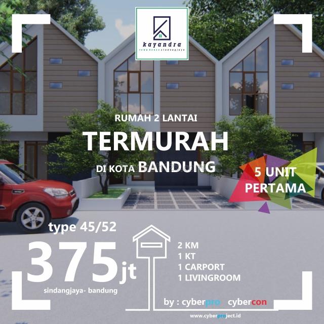 435 JUTA 2 LANTAI, Cicaheum, Bandung