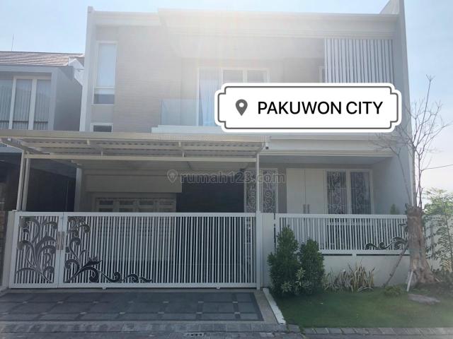 Rumah baru Gress Minimalis 2 Lantai di Pakuwon City, Pakuwon City, Surabaya
