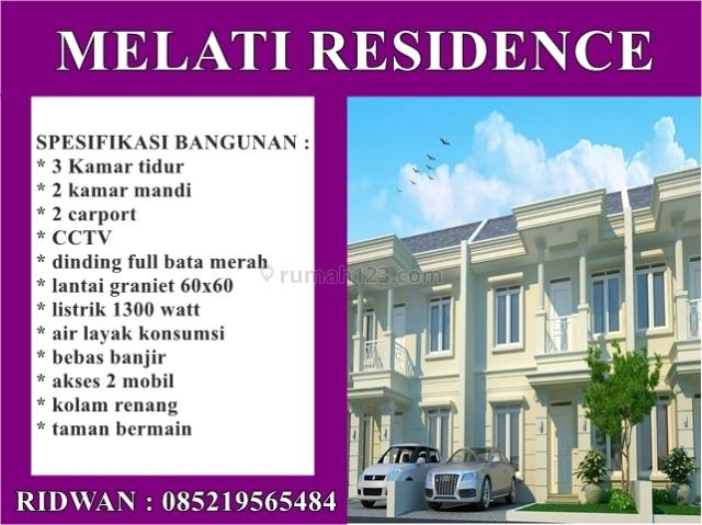cluster 2 lantai mewah aman nyaman di Serpong, Kreo, Tangerang