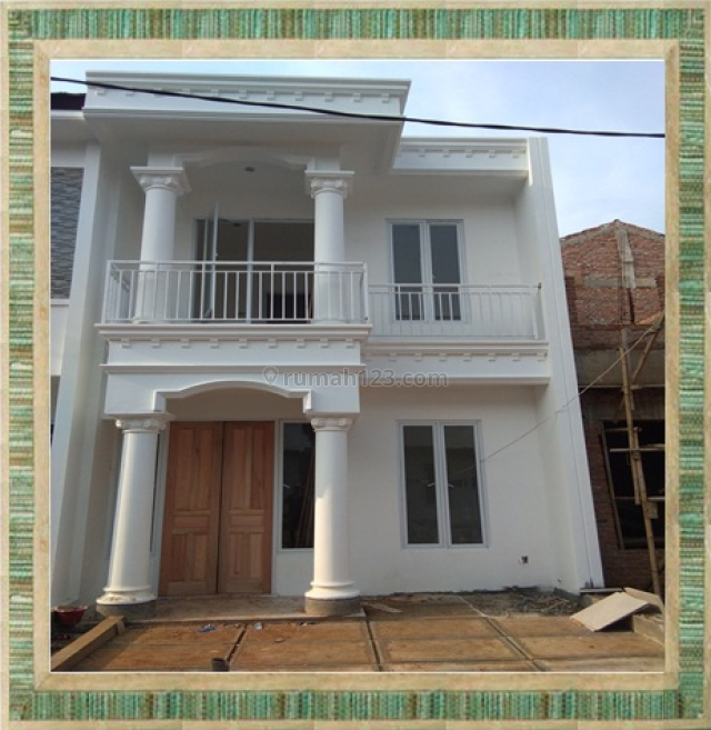 Rumah baru 2lantai paling laris murah dikawasan elite serpong,bsd, Kreo, Tangerang