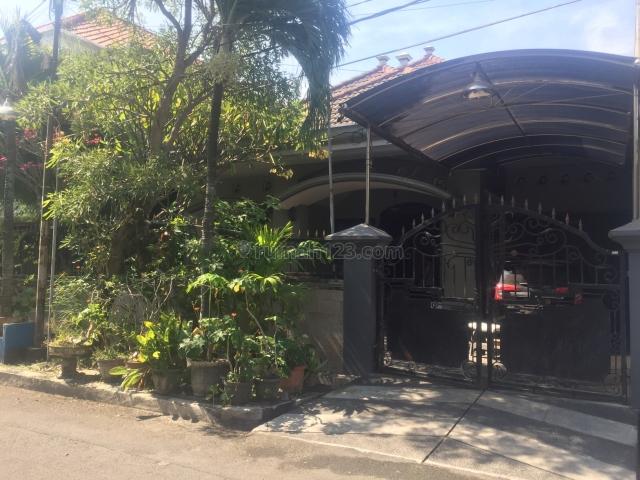 Rumah 1 lantai, lokasi ciamik, Darmo permai, Surabaya