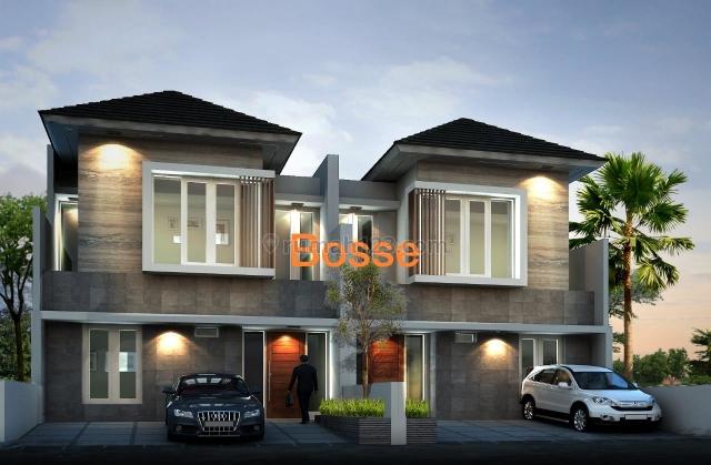 Rumah New Gress 2 Lantai di Gayungsari, Gayungan, Surabaya