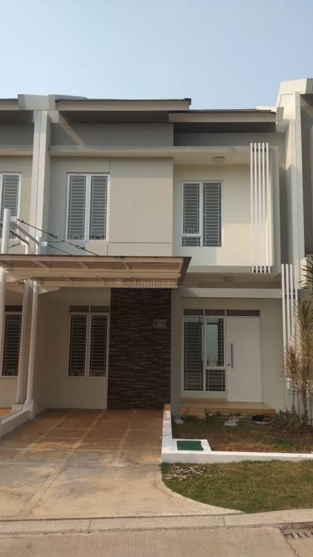Rumah Serpong Natura City, Serpong. Nyaman Berkonsep Kota Mandiri, Serpong, Tangerang
