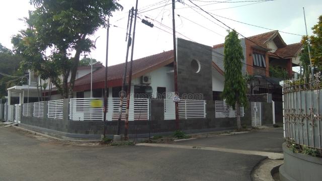 Rumah luas selantai posisi hook dkomplek sekitar Buahbatu Bandung, Bandung Kota, Bandung
