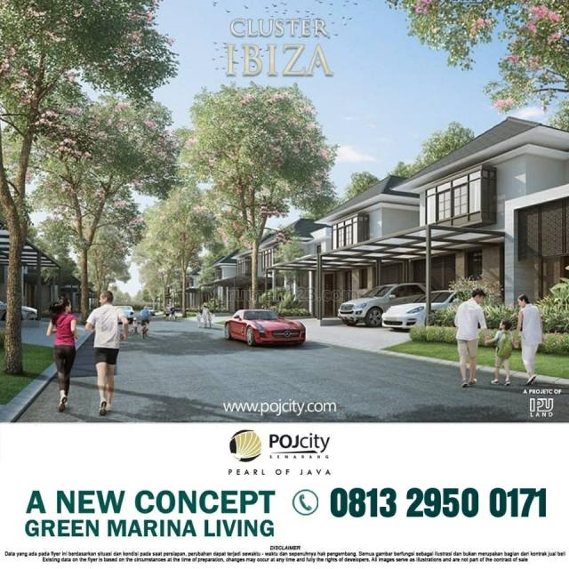 Rumah Mewah di Tepi Pantai Marina Semarang. 1menit dr Bandara. LB 152 LT 144, Puri Anjasmoro, Semarang