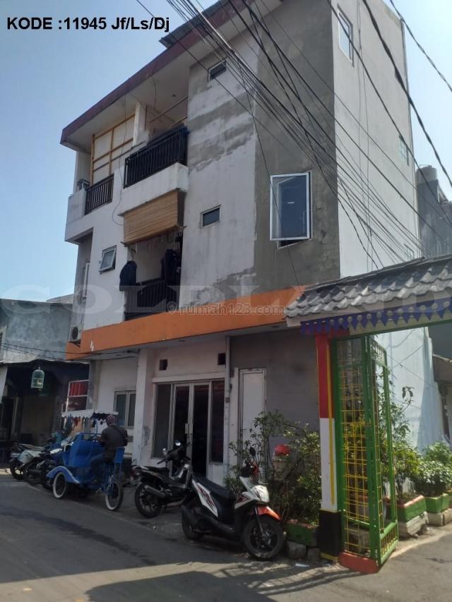 KODE :11945(Jf/Ls/Dj) Rumah Kemayoran, Luas 4x10 Meter, Kemayoran, Jakarta Pusat